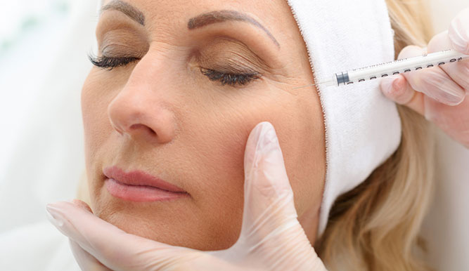 botox injections for woman